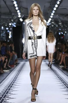 Versus By Antony Vaccarello Ready To Wear Spring Summer 2015 New York - NOWFASHION