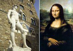 ¿Sabías qué...? de la semana con ilustraciones ( Curiosidades Arquitectónicas ) Renacimiento Italiano #arquitectura #escultura #pintura