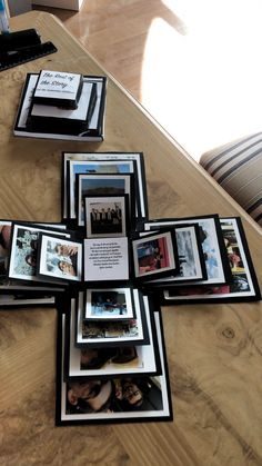 DIY Photo box, The Effective Pictures We Offer You About diy anniversary crafts A quality picture can tell you many things. You can find the most Diy Christmas Gifts For Boyfriend, Creative Gifts For Boyfriend, Cute Boyfriend Gifts, Diy Gifts For Dad, Diy Gifts For Friends, Diy Gift Box, Diy Crafts For Gifts, Christmas Diy, Suprise For Boyfriend