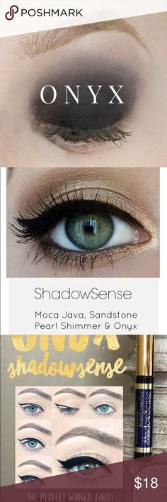 Onyx Shadowsense This was used as a tester. So it's like new but has been opened. senegence Makeup Eyeshadow