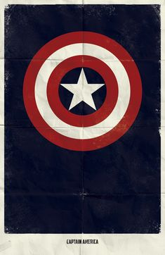 Why complicate things? (Captain America is my favourite. Followed by Hulk, of course)