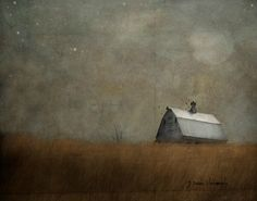 """The Atmospheric Watercolour Photography of Jamie Heiden Jamie Heiden, an artist from Wisconsin that """"…by using Polaroid film, adding watercolors on top of a photograph, or processing digital images in. Scenery Pictures, Landscape Paintings, Mini Paintings, Abstract Paintings, Landscapes, House Painting, Painting Inspiration, Art Lessons, Home Art"""