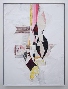 40 x 30 Romer Young Gallery, Ryan Wallace, Untitled (Lenakaeia) 3 (2017), Oil, enamel, acrylic, vinyl, aluminum, fiberglass, paper, canvas,…