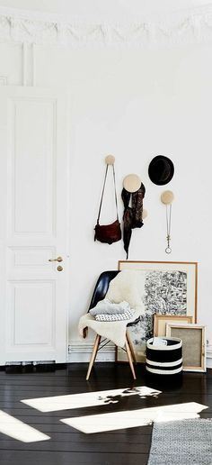 \\ if there is room in the robe on a small section of the wall - I want to do this for bags, hats and scarves \\