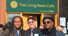 Volunteer with the Living Room Cafe #inspiration