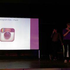 Auch Instagram Ads sind ein Thema beim #SMTChemnitz.