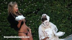 Http://ValentineNetwork.com - Pied in the face and hair.