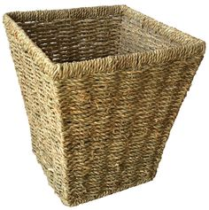 The best Seagrass Square Waste Bin are selling out fast so don't miss this opportunity! http://redhamper.co.uk/seagrass-square-waste-bin/  #wickerstoragebaskets #shoppingbaskets