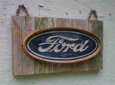 Vintage Style Ford Sign. $44.95, via Etsy.