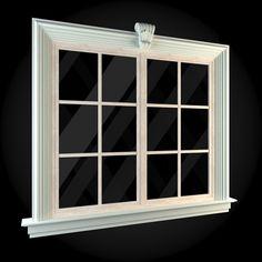 Window 006 ...  apartment, architecture, building, classicism, design, exterior, house, interior, render, v-ray, window