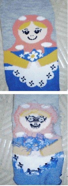 good/evil sock