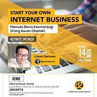 Start Your Own Internet Business Workshop