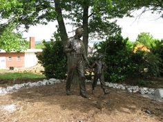 Dedication to the Andy Griffith Show in Mount Airy, NC