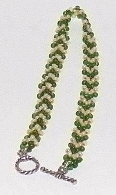 Potawatomi Chevron Chain - Beadwork  #seed #bead #tutorial