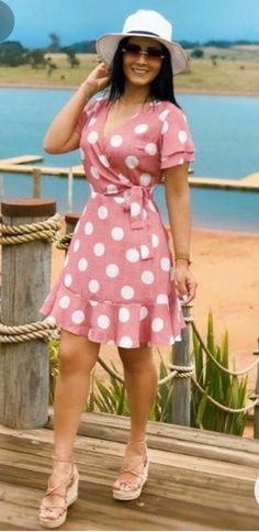 Short Skirts, Short Sleeve Dresses, Dresses With Sleeves, Hot Dress, Dress Skirt, Look Fashion, Womens Fashion, Summer Outfits, Shorts