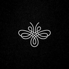 Bee #logo #mark #symbol #lines #bee #insect #honey #logoplace #logoinspirations #logothorns