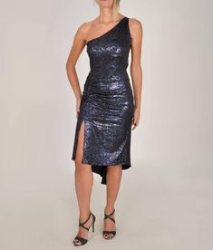 Bonnie Exclusive, One Shoulder Tango Dress with a Lace Back. Ruched Details, Fish tail, and Slits on the Skirt. Dress For Summer, Tango Dress, Lace Back, Fishtail, Grunge Fashion, Alternative Fashion, New Product, Editorial Fashion, Backless