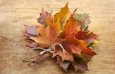 Fall leaf Bouquet....