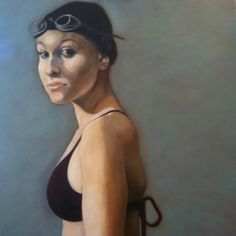 """Kelsey-Oil on canvas. 36""""x36"""""""