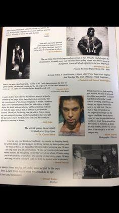 Prince's private memorial in LA Program page 7
