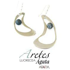 Aretes Lucrecia Ágata