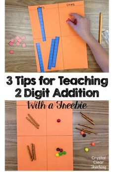 If you are introducing two digit addition to your students soon, you won't want to miss these three tips for teaching two digit addition. Your students will love these fun math activities (especially #2), and there is even a freebie to make your next math lesson easier to prep for!