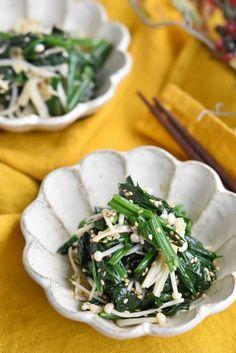 Seaweed Salad, Japchae, Food And Drink, Cooking Recipes, Japanese, Snacks, Vegan, Ethnic Recipes, Kitchen