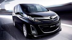 Mazda Biante for get the boxy MPV cars