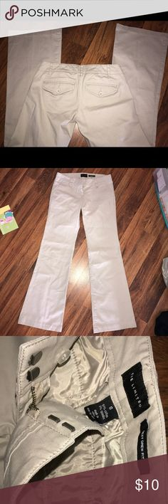 """""""Sexy Drew Fit"""" The Limited Brand Khaki Pants In excellent condition! The Limited Pants Boot Cut & Flare"""