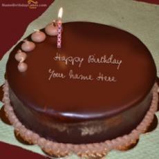 Write Name On Candles Birthday Cake Red Birthday Cakes, Birthday Cake Greetings, Happy Birthday Cake Pictures, Happy Birthday Wishes Cake, Birthday Cake For Husband, Elegant Birthday Cakes, Birthday Cake With Flowers, Birthday Cake With Candles, Sister Birthday