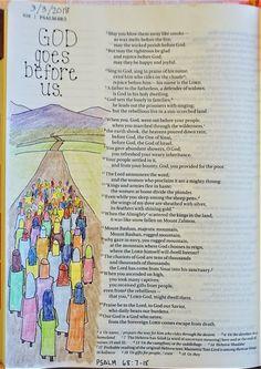 Psalm 68:7-18