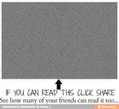 Can you find it? The trick is to shake your divide back and forth a little