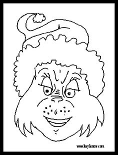 free printable holiday clip art grinch coloring sheets grinch coloring pages coloring pages of dr