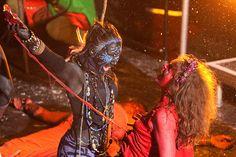 A Storm Hag tears the innards from a Red Man as Winter overcomes Summer at the Samhuinn ritual held in Parliment Square Edinburgh Scotland Fire Festival, Wicca, Pagan, Beltane, Edinburgh Scotland, Samhain, Mystic, High Holidays, Creepy Things
