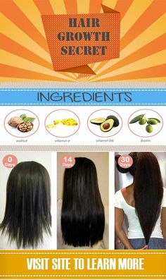 Natural Hair Growth Secrets ♥