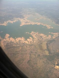 Lake Buchanan from about 10,000 ft