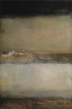 something to aspire to! JMW Turner, Three Seascapes 1827.