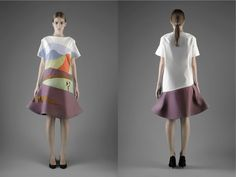 Vika Gazinskaya SS13 Lookbook | Fashion Magazine | News. Fashion. Beauty. Music. | oystermag.com  A bold approach to applique