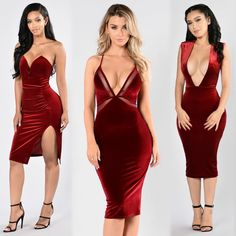 "❤️SHOP HOLIDAY OUTFIT❤️ Search: ""Helena Dress""⠀ Search: ""Drop Dead Gorgeous Dress""⠀ Search: ""Southern Charm Dress""⠀ Search: ""California Dreamin' Heel""⠀ Search: ""Strapped Success"" Heels⠀ ✨www.FashionNova.com✨"