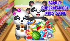 #SupermarketGame Join this #KidsEducationlaGame and complete tons of #Supermarket activities with joy.