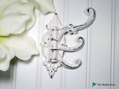 Shabby Chic Wall Hook/French Country/Coat by TheShabbyStore