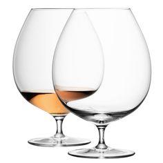 Discover the LSA International Bar Brandy Glasses - Set of 2 at Amara