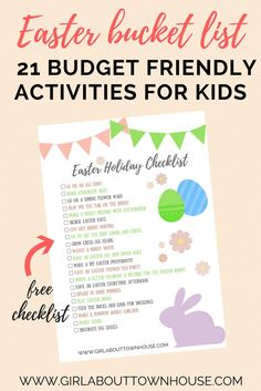 21 fun Easter activities for kids that are budget friendly