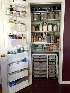 Container Store Closet & Image result for organizing storage closet junk | Home | Pinterest ...