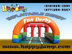 Inflatable Derby - 3 Lane - IG5410