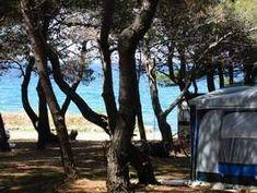 Kroatië - camping met mooie ligging aan zee