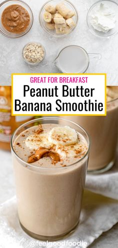 Healthy Morning Smoothies, Best Healthy Smoothie Recipe, Good Smoothies, Healthy Drinks, Healthy Breakfast Smoothie Recipes, Healthy Breakfast Shakes, Healthy Morning Breakfast, Breakfast Smoothies With Oats, Easy Healthy Smoothie Recipes