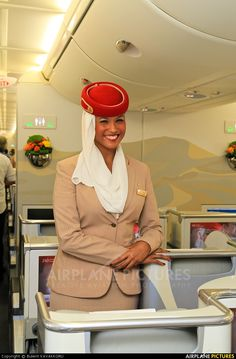 Emirates Cabin Crew.  Emirates is an airline based at Dubai International Airport in Dubai, United Arab Emirates. It is the largest airline in the Middle East.