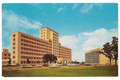 Parkland Memorial Hospital-Dallas Texas Vintage Postcard on Etsy, $4.00