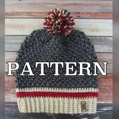 Buy 2 Get 1 Free...Coupon Code FREEPATTERN  Crochet Slouchy
